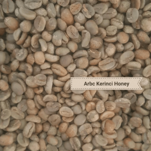 Kerinci honey Arabica green beans