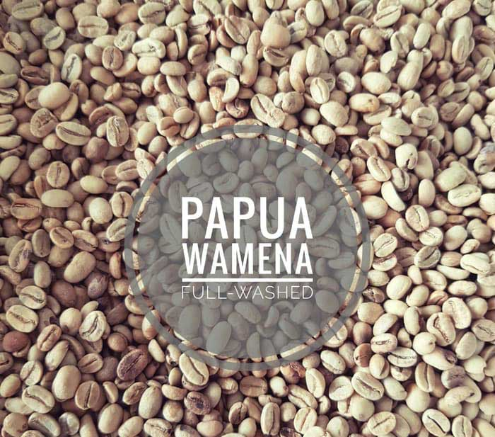 Full Wash of Wamena Arabica Coffee Green Beans