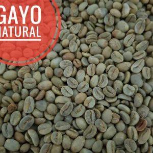 Natural gayo coffee beans