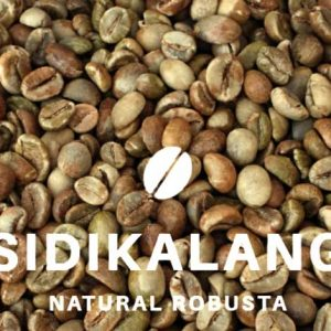 Sidikalang robusta coffee beans