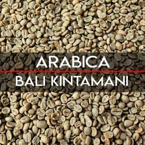 Specialty bali kintamani coffee bean