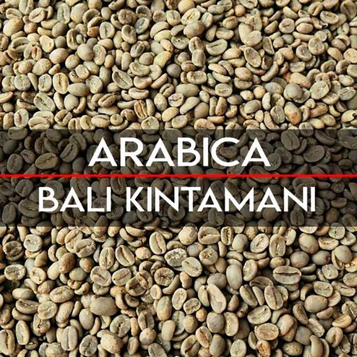Specialty bali kintamani coffee bean