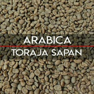toraja arabica coffee green bean