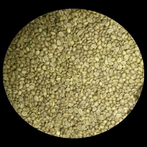 Organic robusta coffee beans